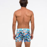 INTO THE BLUE FITTED FIT BOXER