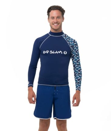 BATIK WAVE LONG SLEEVES RASH VEST