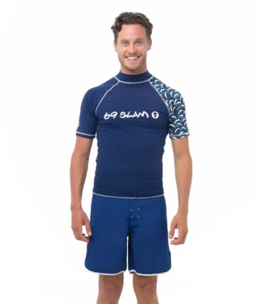 BATIK WAVE SHORT SLEEVES RASH VEST