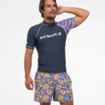 Peace SHORT SLEEVES RASH VEST