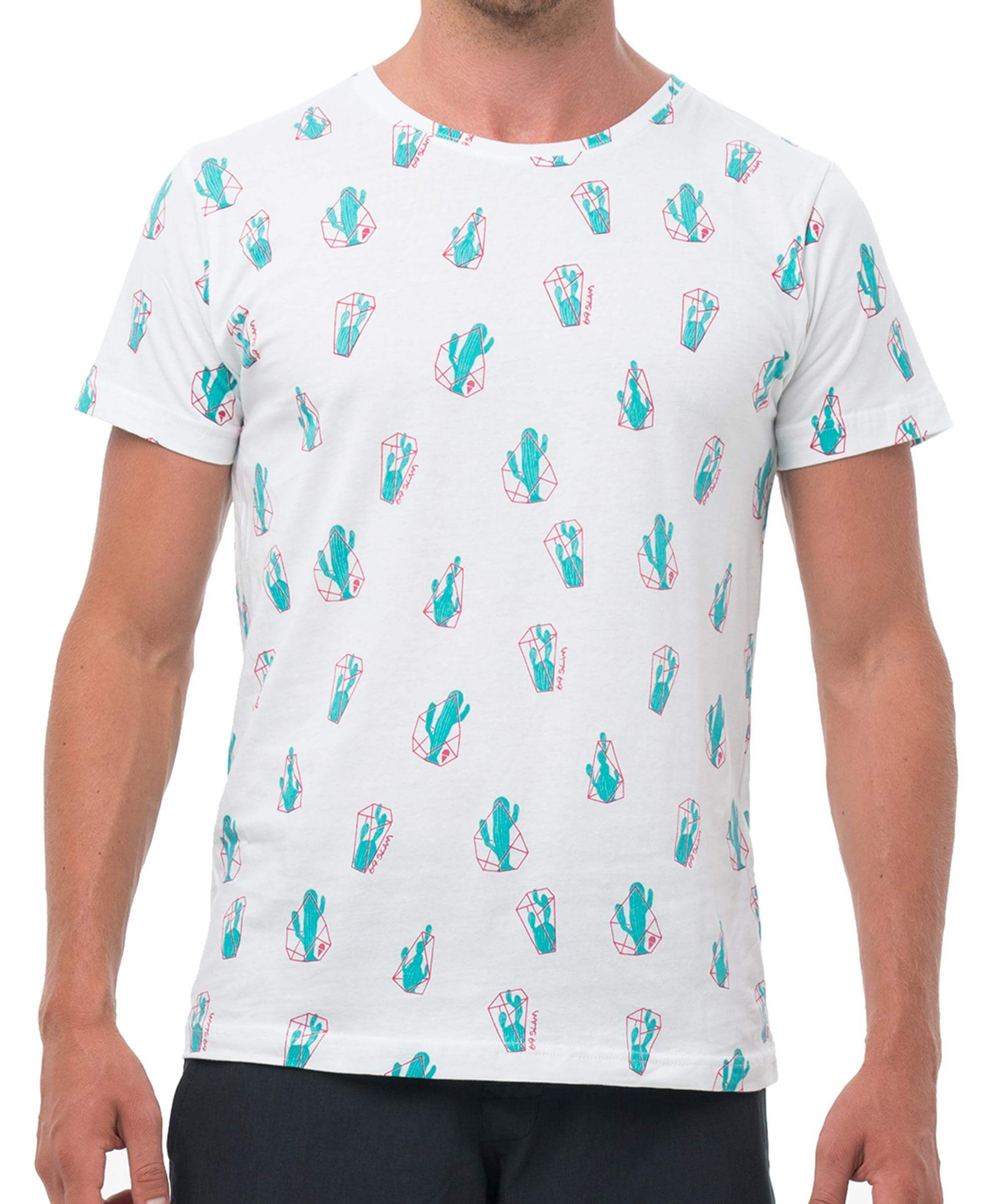DURI DURI WHITE BE DIFFERENT COLLECTION SHORT SLEEVES T-SHIRT