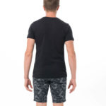 SKULLNAMENT BLACK BE DIFFERENT COLLECTION SHORT SLEEVES T-SHIRT