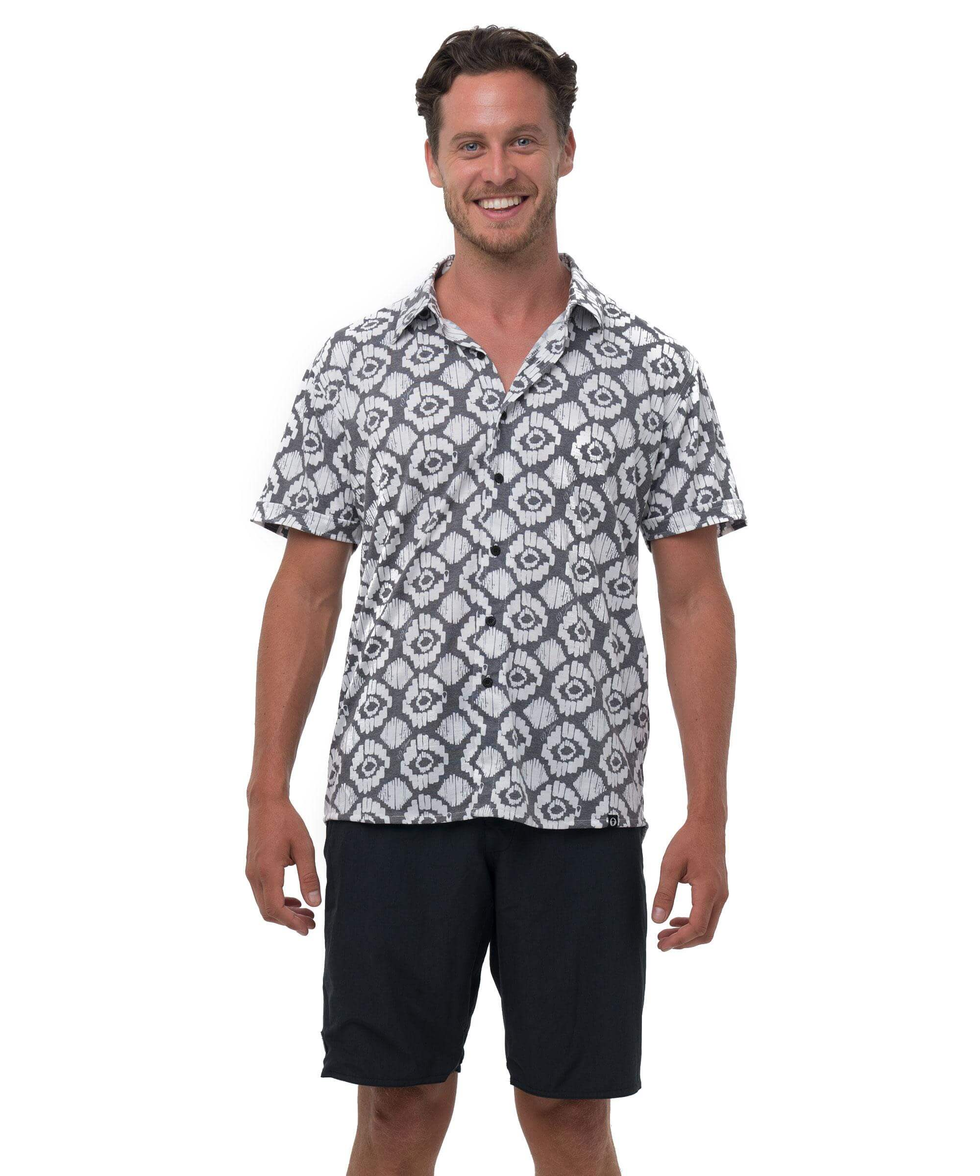 IKAT DIAMOND JAMIE RASH SHIRT