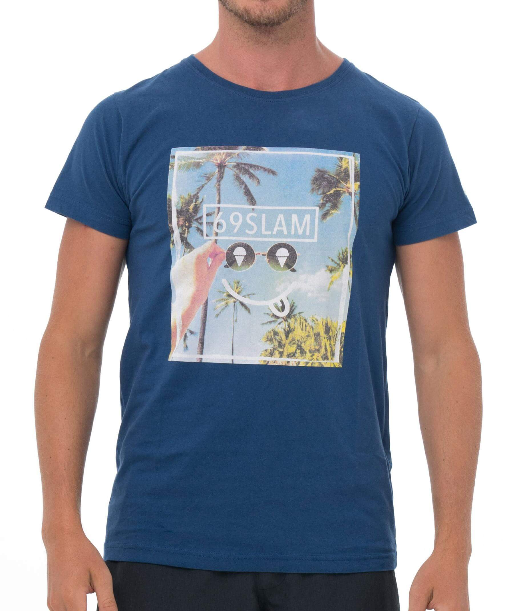 SMIRKING SKY NAVY BE DIFFERENT COLLECTION SHORT SLEEVES T-SHIRT