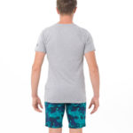 VEGAN RABBIT GREY BE DIFFERENT COLLECTION SHORT SLEEVES T-SHIRT