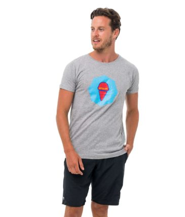 NINE RAYS GREY DNA COLLECTION SHORT SLEEVES T-SHIRT