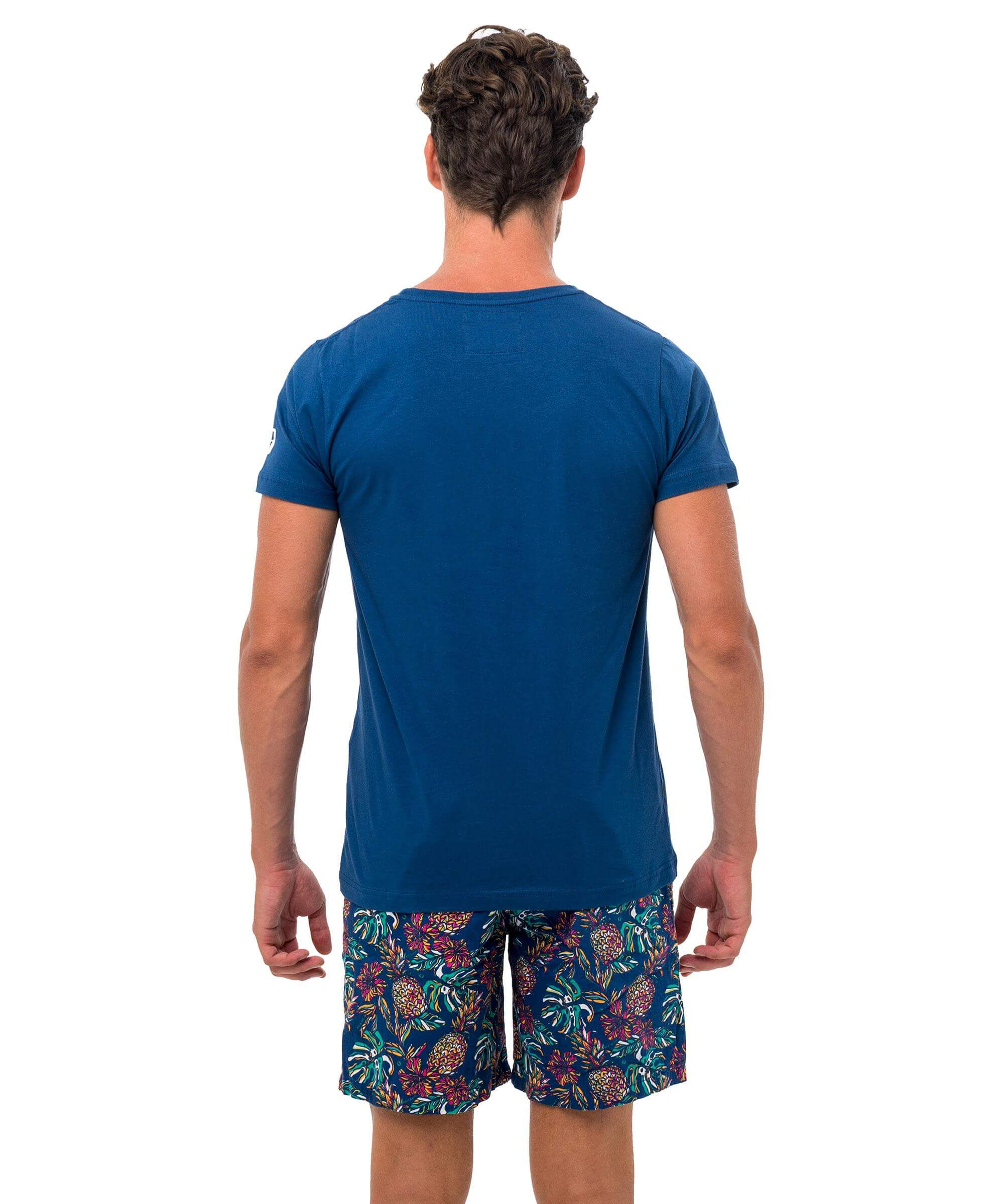 FAUX-KET NAVY DNA COLLECTION SHORT SLEEVES T-SHIRT