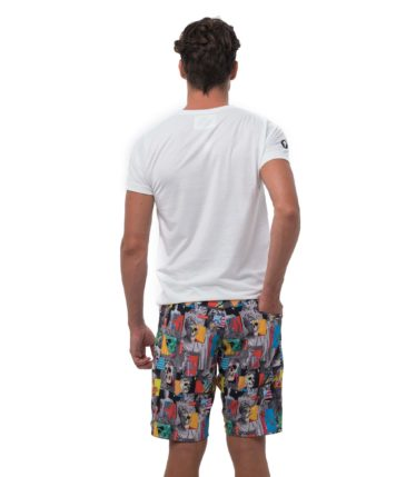 SKULPTURE REVERSIBLE WALKSHORTS