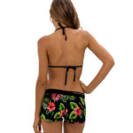 LEILANI BLACK BOARDSHORT