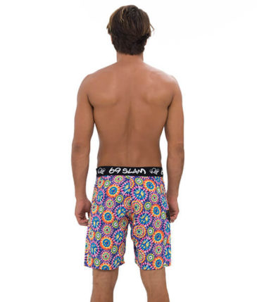 Peace LONG LENGTH BOARDSHORT