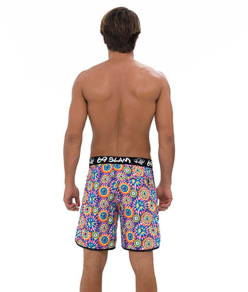 Peace MEDIUM LENGTH BOARDSHORT