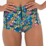 PICASUMMER HIGH WAISTED BIKINI BOTTOM