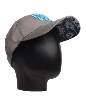 SKULL KONG CURVED BRIM CAP