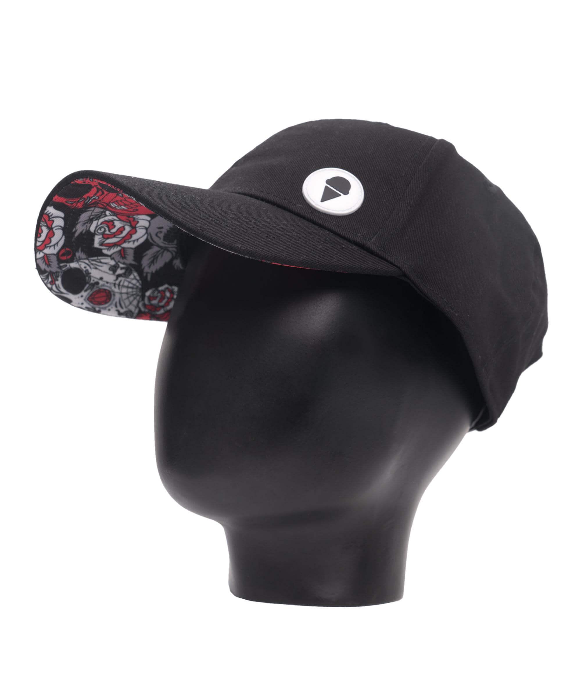RED SUGAR CRANE CURVED BRIM CAP