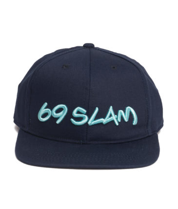 69SLAM LOGO CAP DEEP BLUE
