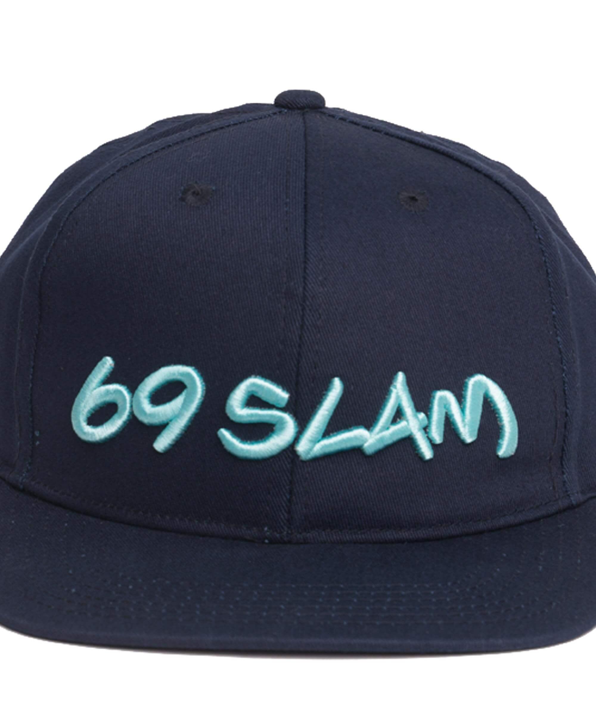 69SLAM LOGO CAP DEEP BLUE