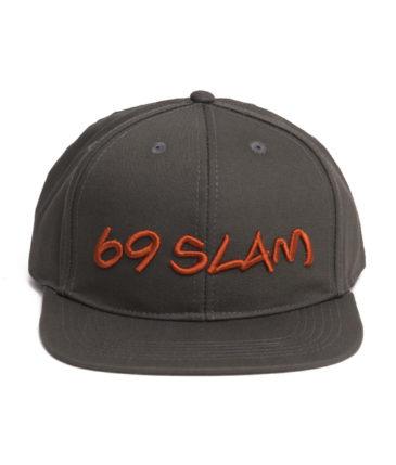 69SLAM LOGO CAP GREEN OLIVE MELANGE