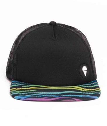 ZEBRA NEON CAP BLACK