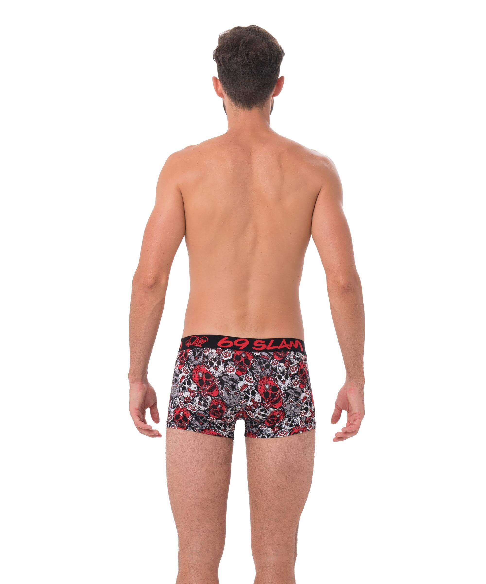 RED SUGAR CRANE ELIJAH BAMBOO HIP BOXER
