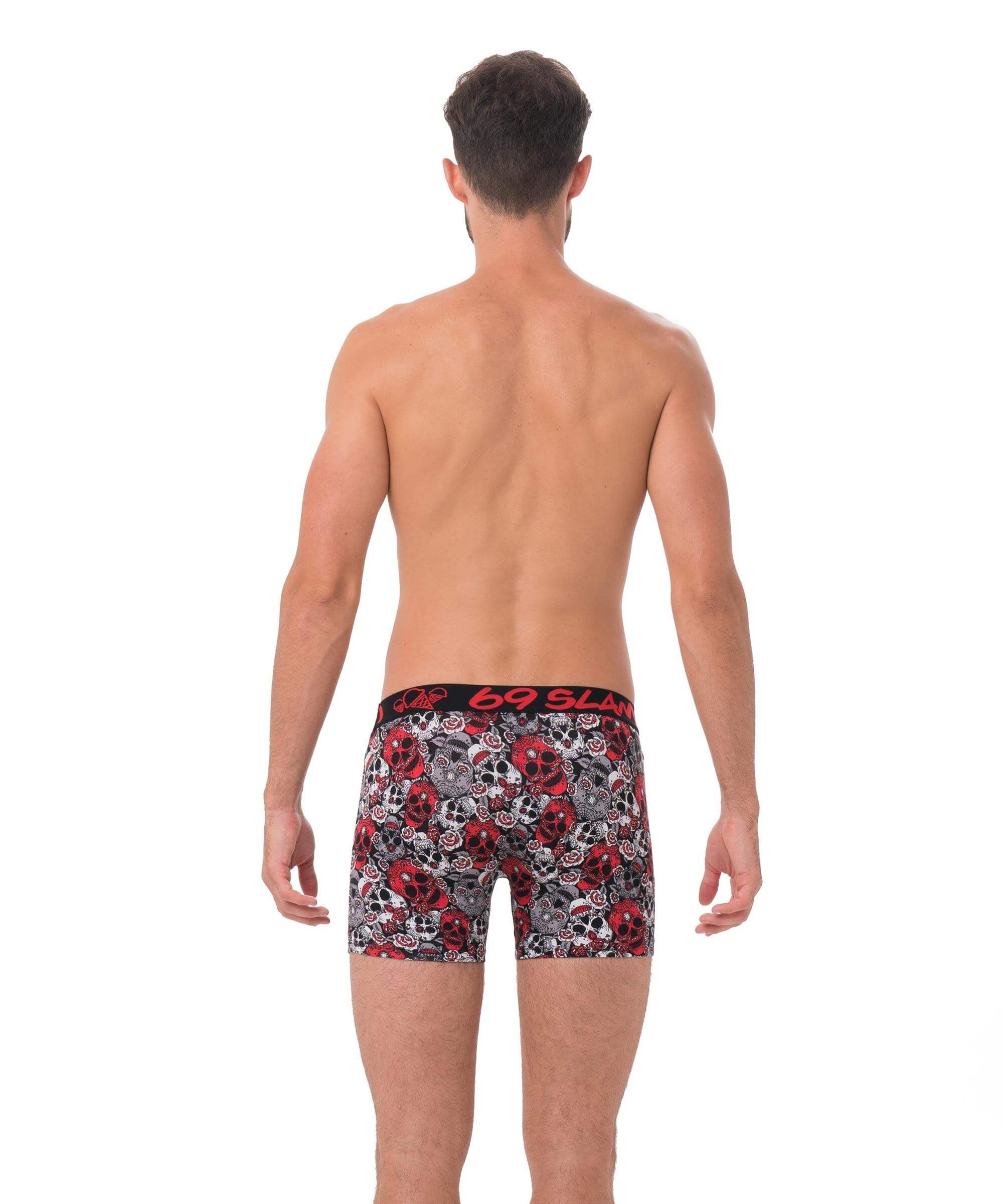 RED SUGAR CRANE BAMBOO FITTED FIT BOXER