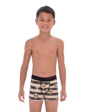 GIRAFFE STRIPES BOYS BAMBOO BOXER