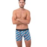 SUSHI SAKE FITTED FIT BOXER
