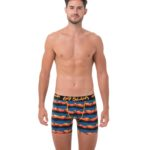 SUNSET PALM FITTED FIT BOXER