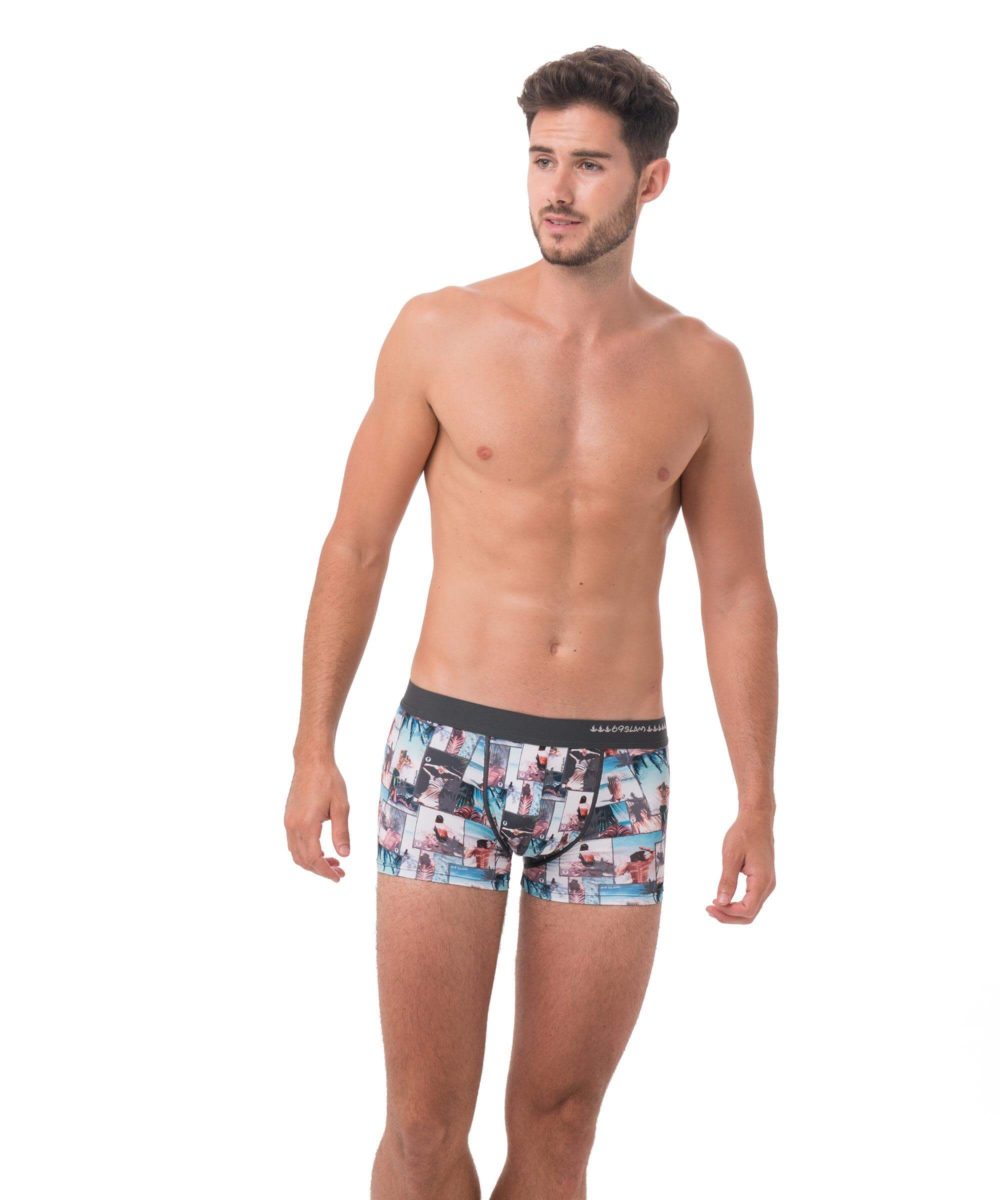 UNDER THE PALM HIP BOXER
