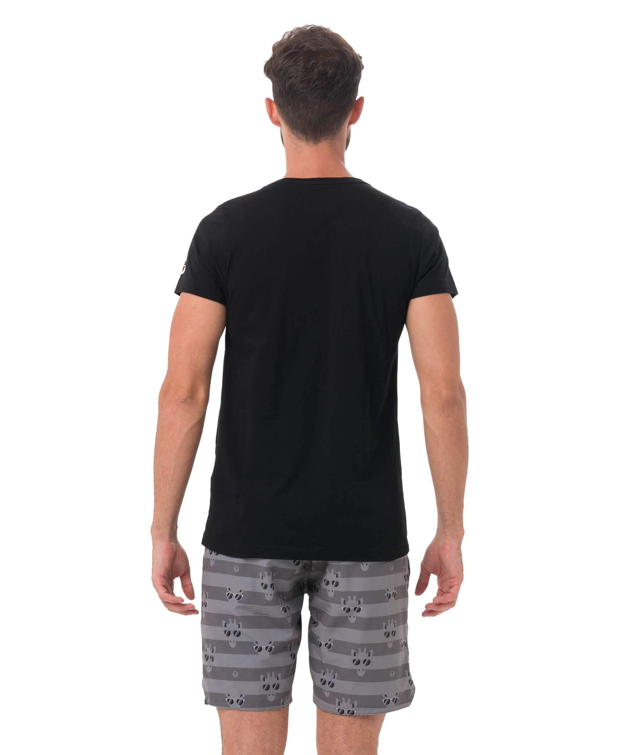ROK BAGOROS x 69SLAM COLLAB BLACK T-SHIRT
