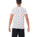 SEA CARTOON WHITE BE DIFFERENT COLLECTION SHORT SLEEVES T-SHIRT