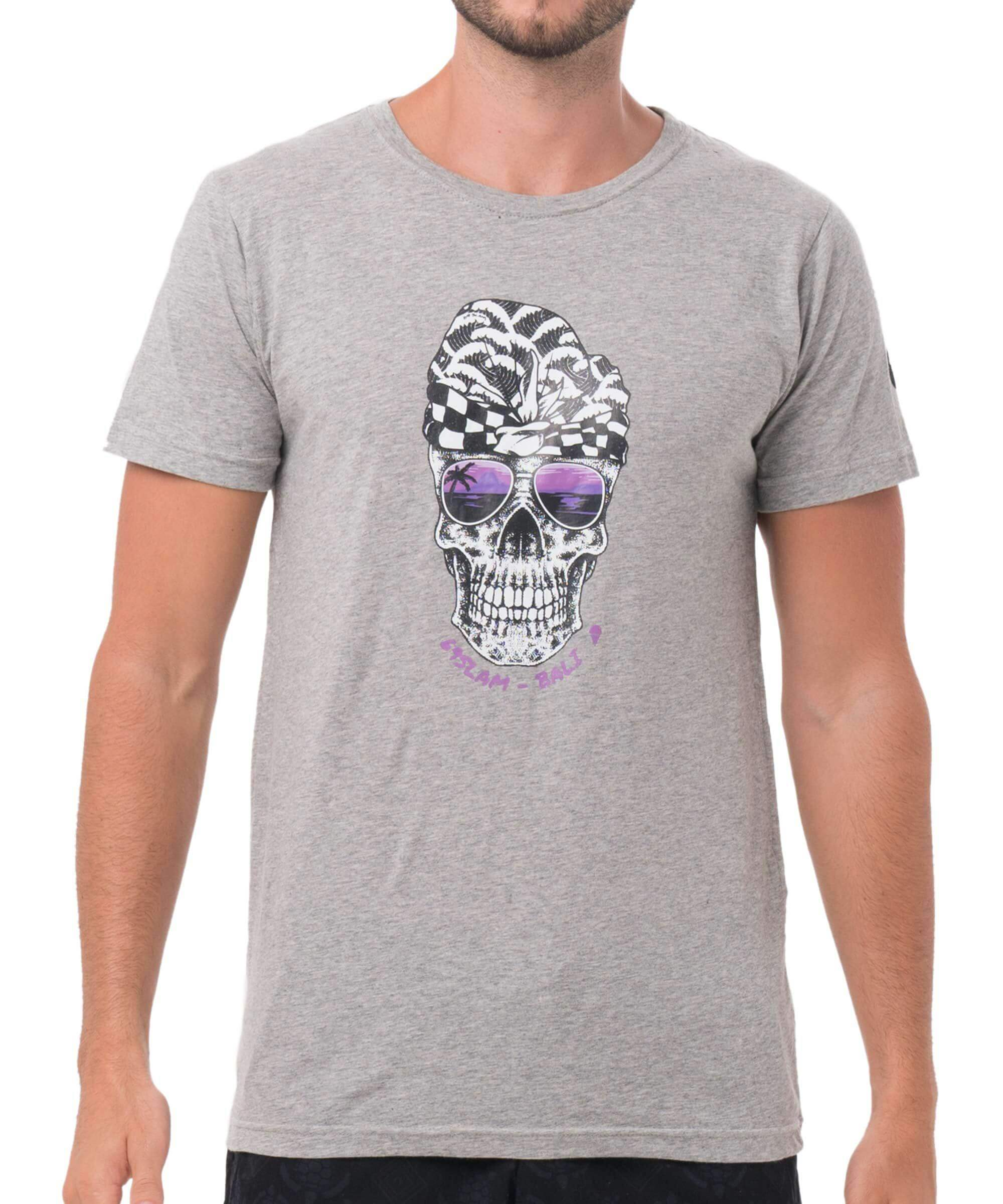 SUNSET GRIN GREY DNA COLLECTION SHORT SLEEVES T-SHIRT