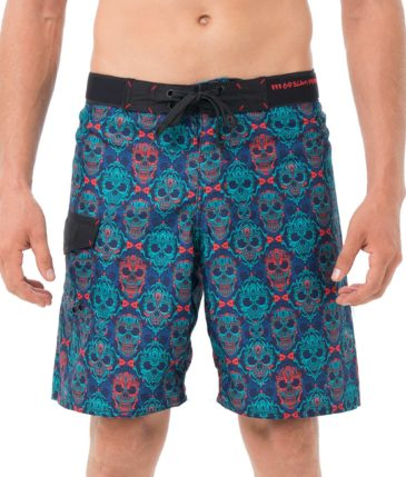 SKULLNAMENT LONG LENGTH BOARDSHORT