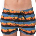SUNSET PALM VOLLEY SHORTS 4WAYS