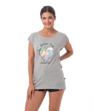 SUMMER LOVE GREY ELISA T-SHIRT