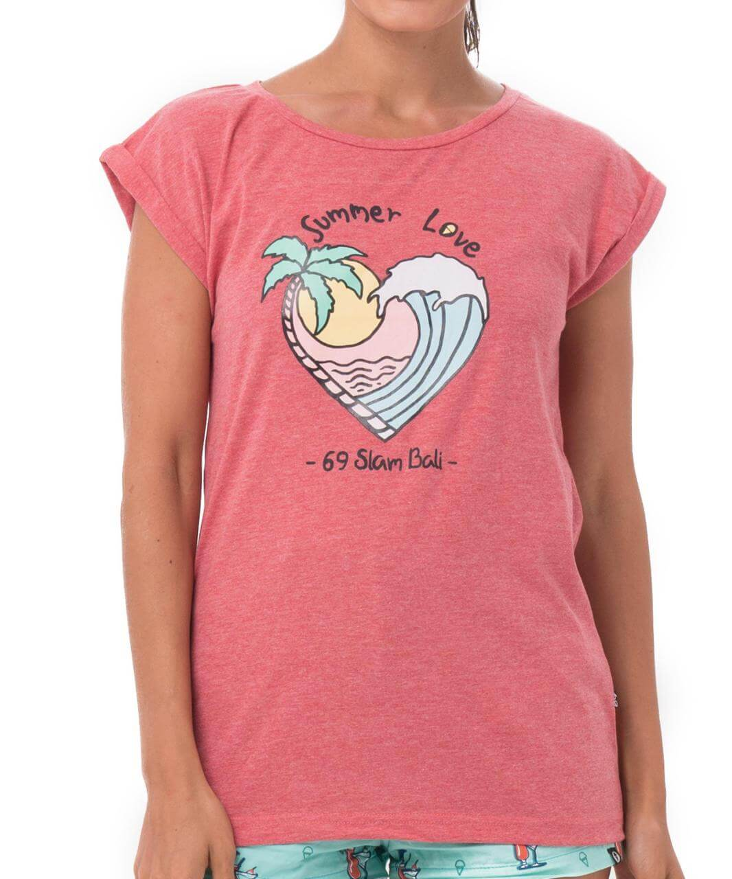 SUMMER LOVE RED CHILI ELISA T-SHIRT