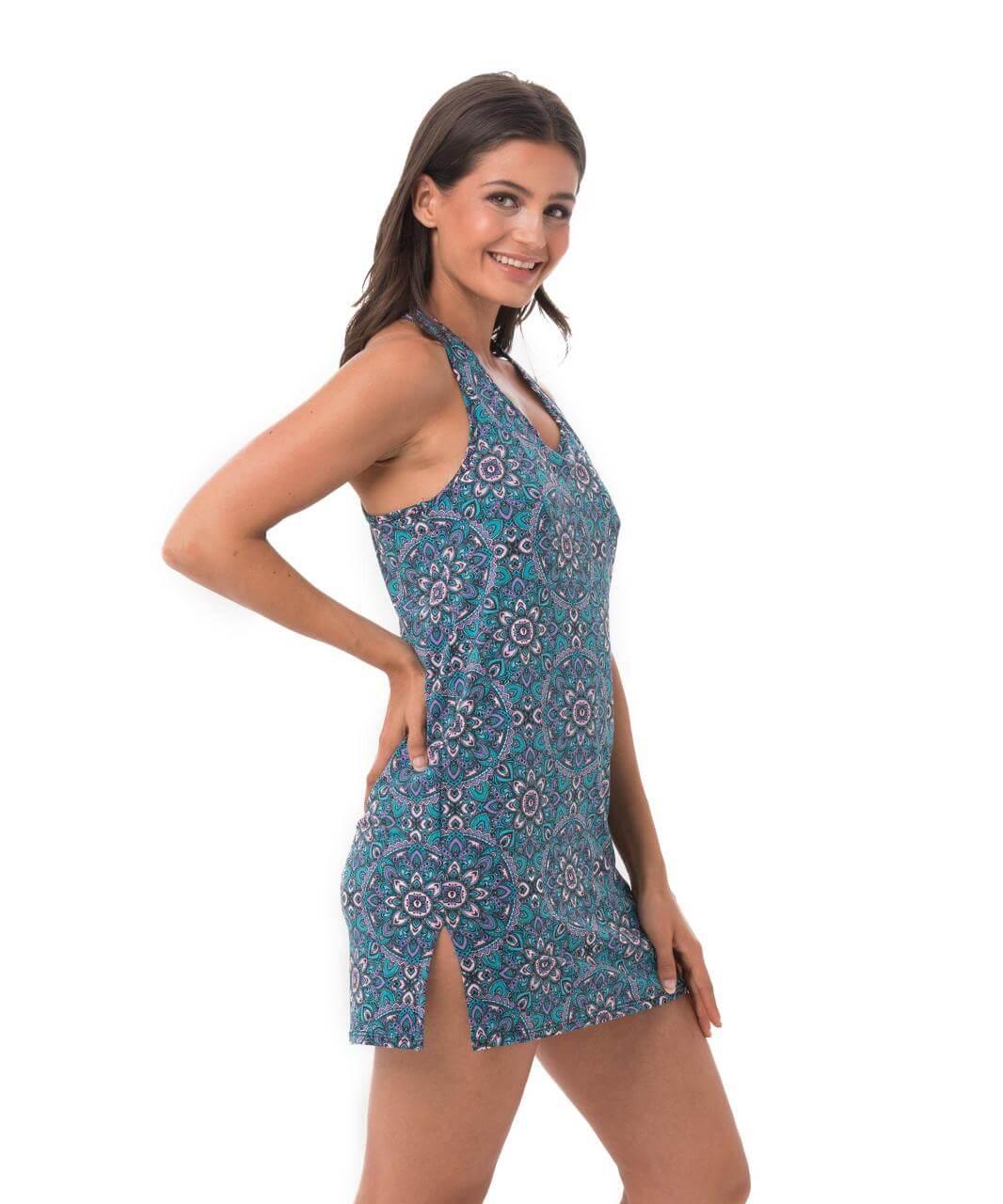 PASTEL MANDALA FIONA DRESS