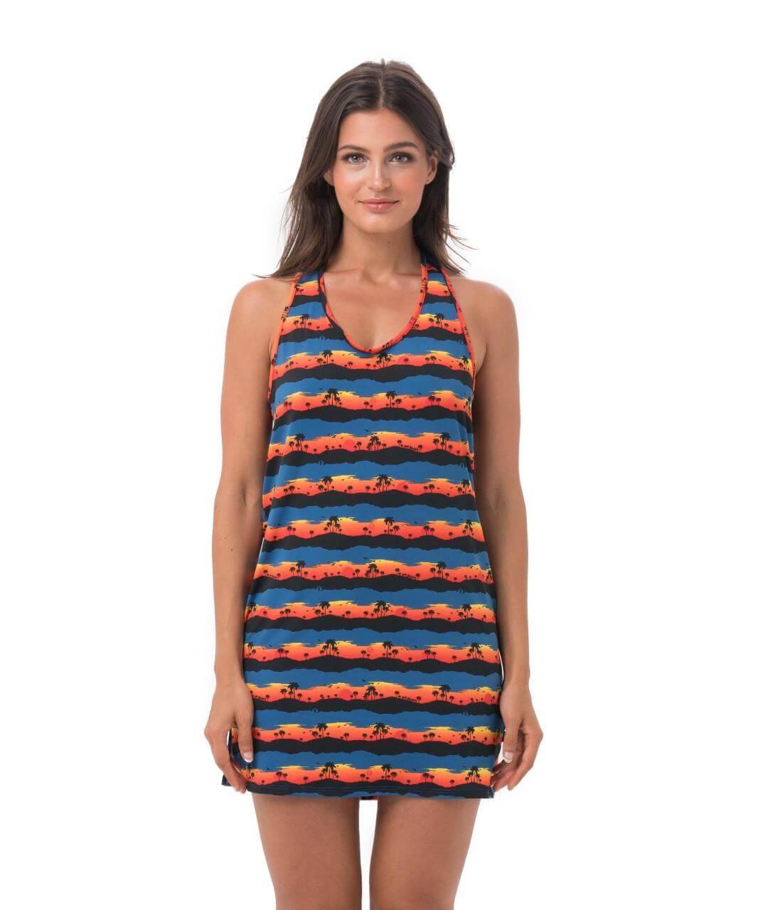 SUNSET PALM FIONA DRESS