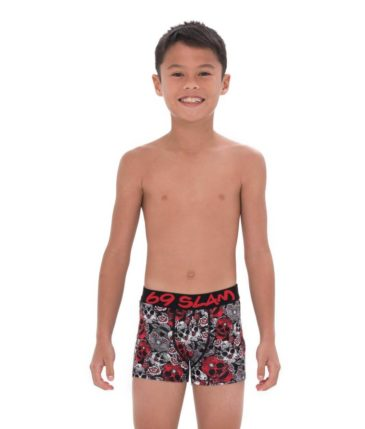RED SUGAR CRANE BOYS BAMBOO BOXER