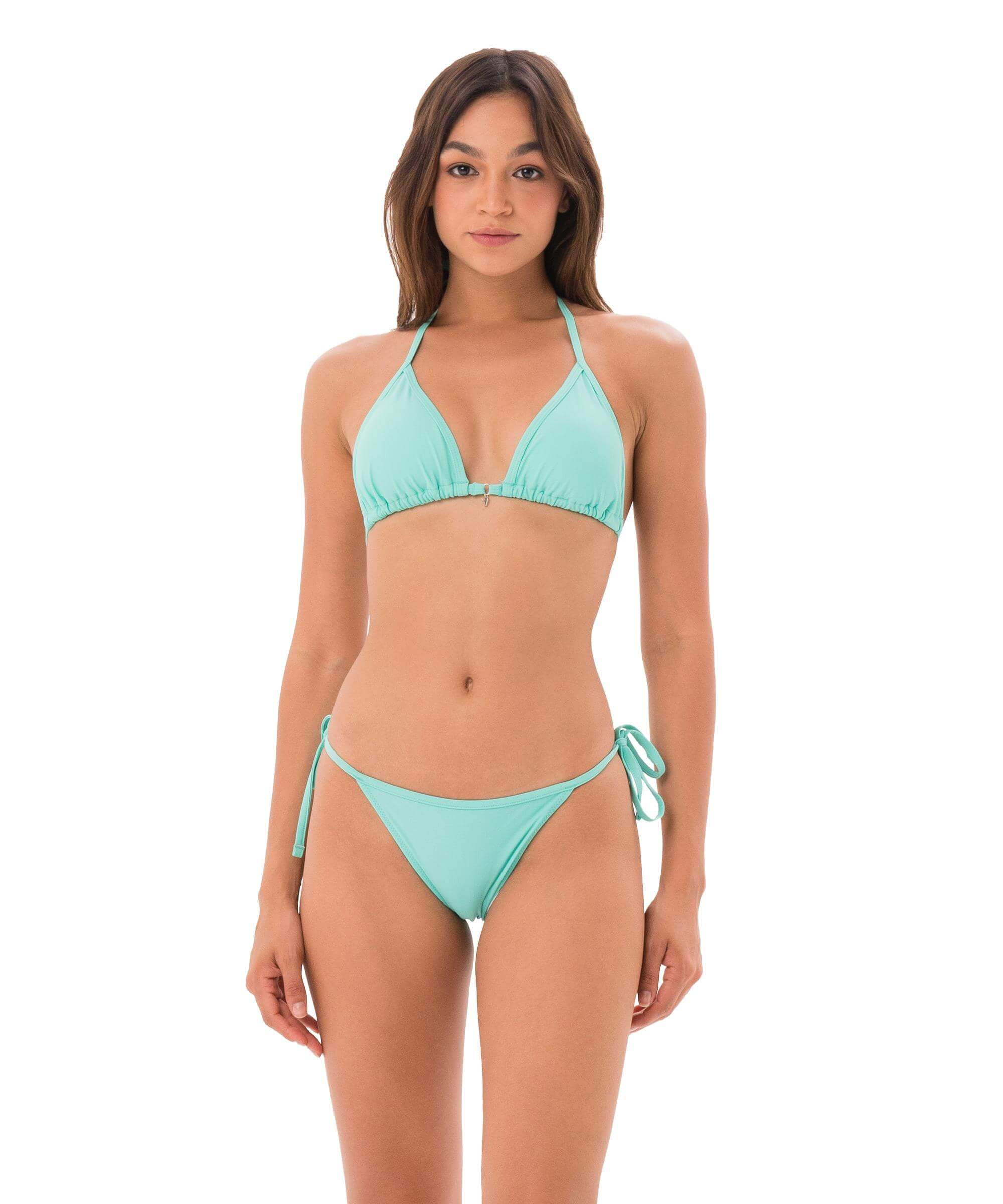COCKATOO MINT GRACE TRIANGLE BRA