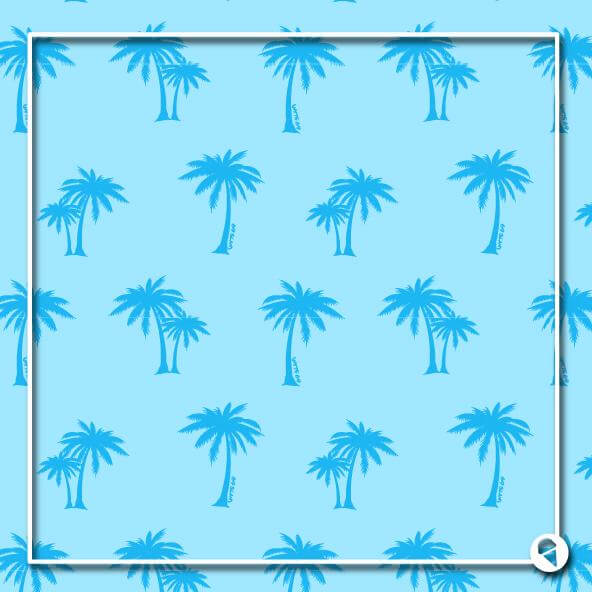 PALM-BLUE